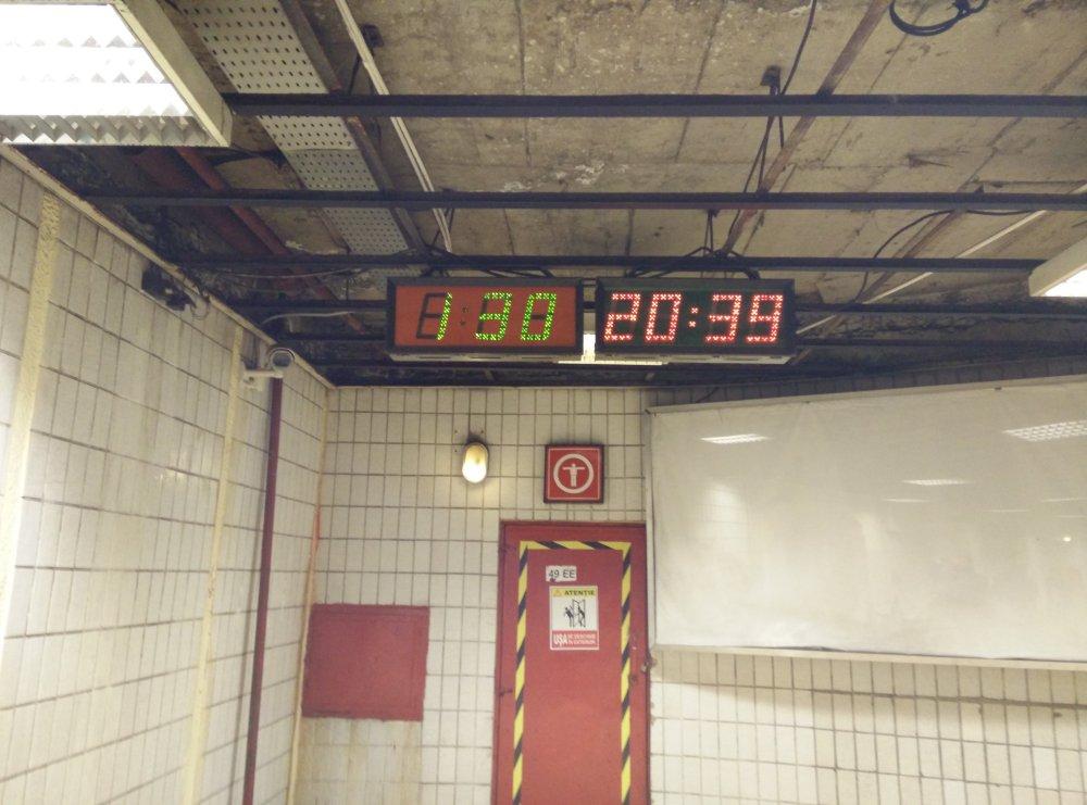 minute la metrou